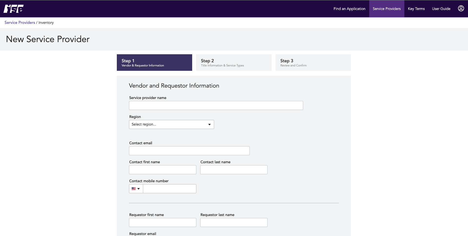 SaaS Product Vendor Page